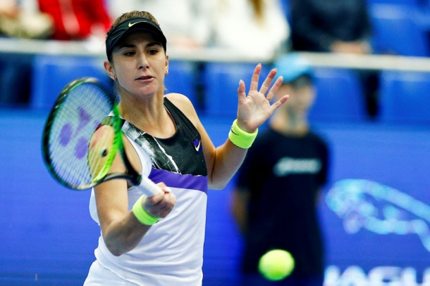 Belinda Bencic was clinical in Moscow after coming from 0-3 down in the final set against Hercog | Photo: Sefa Karacan