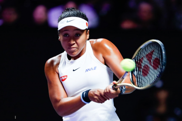 Naomi Osaka rebounded after losing the second set | Photo: VCG