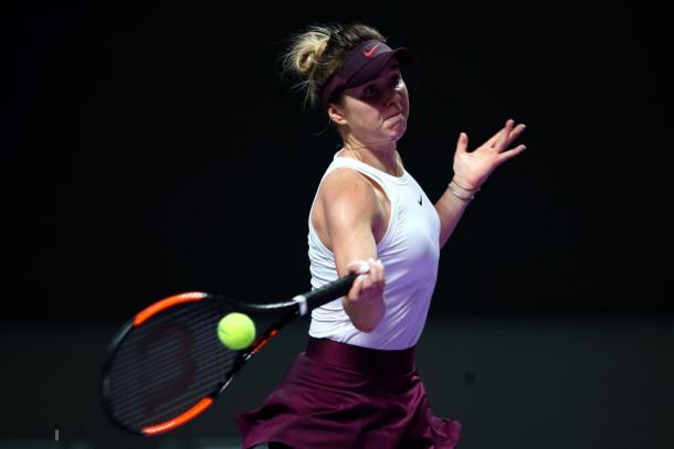 Elina Svitolina will next face Simona Halep | Photo: Clive Brunskill