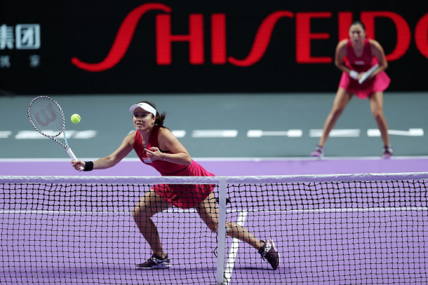 The Chan sisters in action | Photo: Lintao Zhang