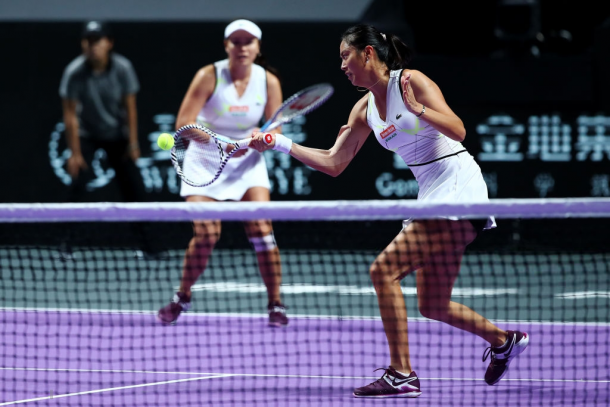 The Chan sisters were unable to take their chances   Photo: Clive Brunskill