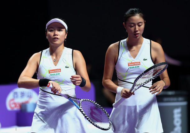 The Chan sisters had a disappointing Shenzhen campaign | Photo: Clive Brunskill