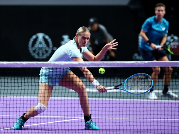 Groenefeld and Schuurs in action | Photo: Clive Brunskill