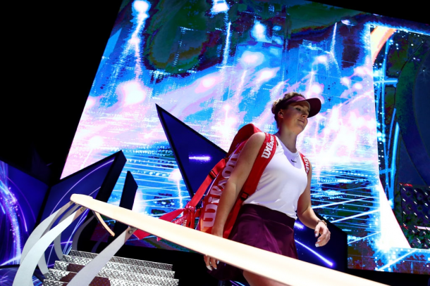 Elina Svitolina once again impressed at the WTA Finals | Photo: Clive Brunskill