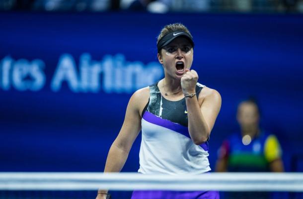 Elina Svitolina had a great year at the Grand Slams | Photo: Chazz Niell