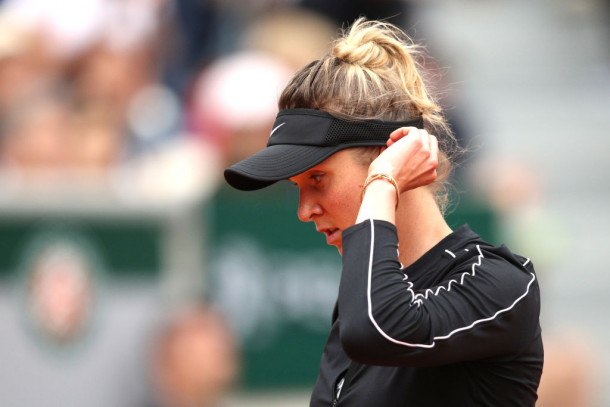 A knee injury bothered Elina Svitolina during the majority of 2019 | Photo: Adam Pretty