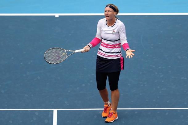 Kiki Bertens was visibly fatigued in the second half of the season | Photo: Xinyu Cui