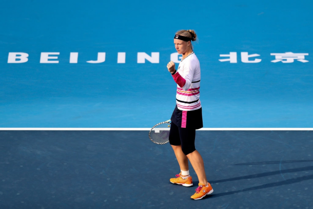 Kiki Bertens came out of nowhere to make the semifinals in Beijing | Photo: Xinyu Cui