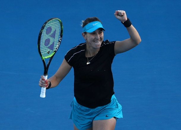 Belinda Bencic owned six wins against top-five players this year, leading the tour in that aspect | Photo: Robert Cianflone
