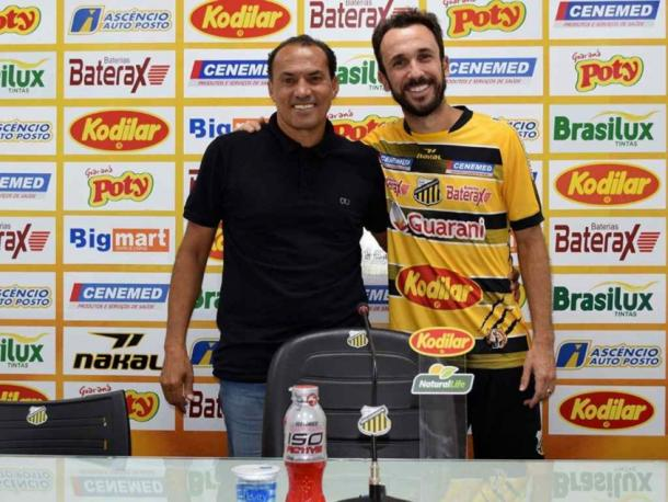 Apresentação de Thiago Ribeiro (Foto: Reprodu