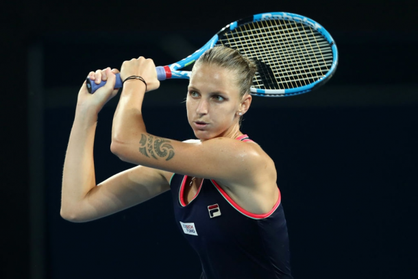 Pliskova is the defending champion and is seeking to become the first player to win the title here thrice. Photo: Chris Hyde/Getty Images.