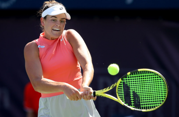 Brady is seeking to score the upset win over Kvitova and avenge her loss to the Czech in Dubai last year.