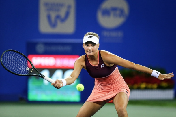 Yastremska is looking to secure a berth in her first ever semifinal at a Premier tournament. Photo: Wang He/Getty Images.