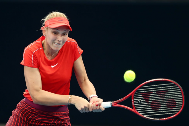 Vekic is seeking to beat Yastremska for the first time ever on her third attempt. Photo: Chris Hyde/Getty Images.