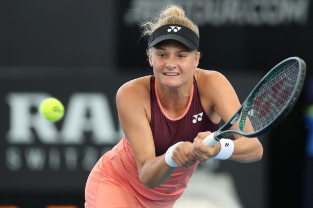 Yastremska is looking continue her mastery over Sabalenka and move into her first Premier final. Photo: Paul Kane/Getty Images.