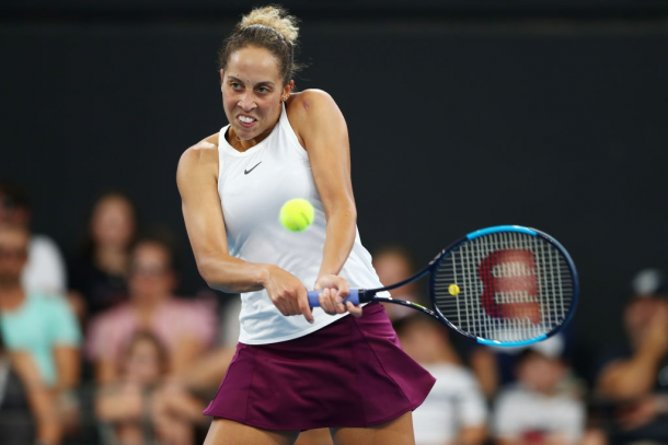 Madison Keys reached the final in Brisbane, her first final outside the States since 2016 | Photo: Chris Hyde