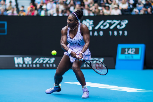 Serena Williams was in magnificent form during her first-round win | Photo: Chaz Niell