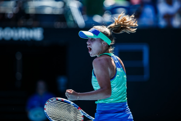 Sofia Kenin has been outstanding in Melbourne this fortnight | Photo: Chaz Niell