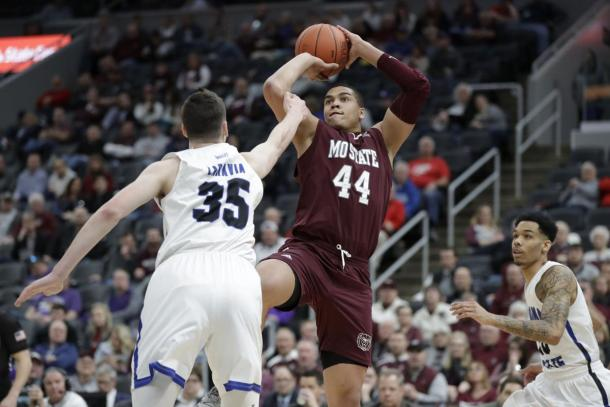 Prim led a balanced attack in Missouri State's rout/Photo: Jeff Roberson/Associated Press