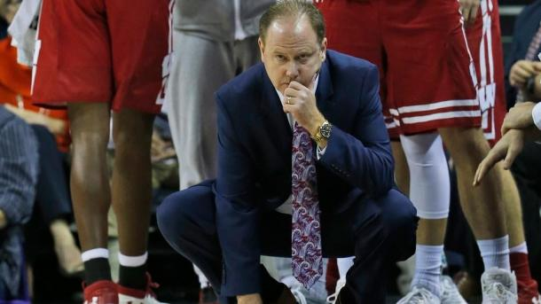Gard looks on during Wisconsin's loss to Virginia/Photo: Steve Helber/Associated Press
