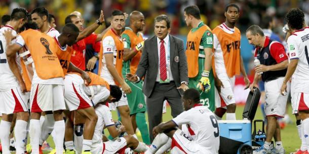 Pinto llevó a Costa Rica hasta los cuartos de final de Brasil 2014, invicto, y con la valla menos vencida de todo el campeonato. Imagen: El Tiempo