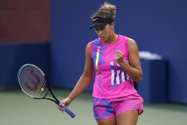 Keys has played flawless tennis through two rounds/Photo: Frank Franklin II/Associated Press