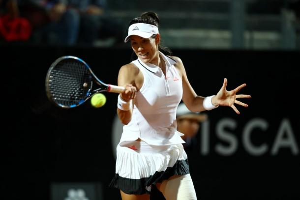 Muguruza is looking to equal her best result in Rome where she made back-to-back semifinals in 2016 and 2017. Photo: NurPhoto