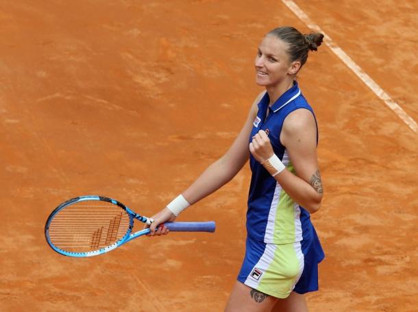 Pliskova returns to Rome seeded second this year and is also the defending champion. Photo: NurPhoto