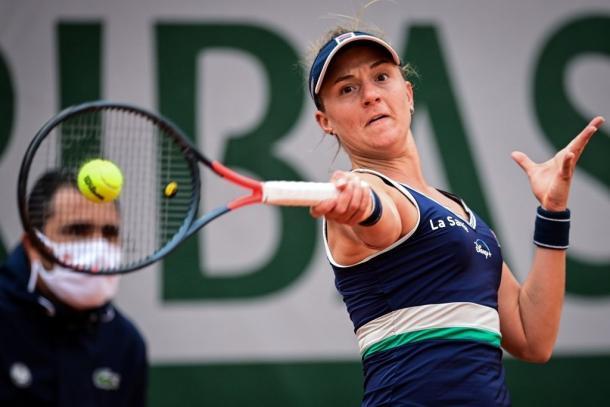 Podoroska is now a win away from her first Grand Slam final. Photo: Mark Bureau