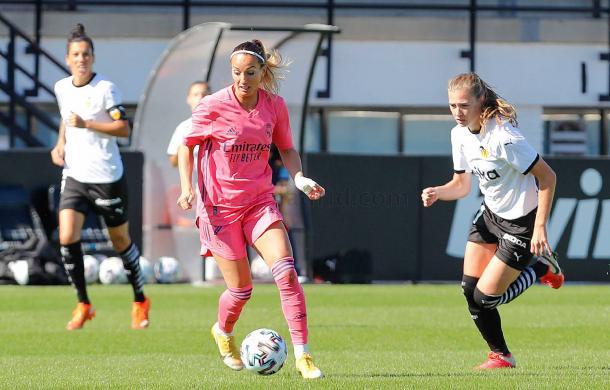 El Real Madrid Femenino empató contra el Valencia Féminas en la segunda jornada | Foto: Real Madrid