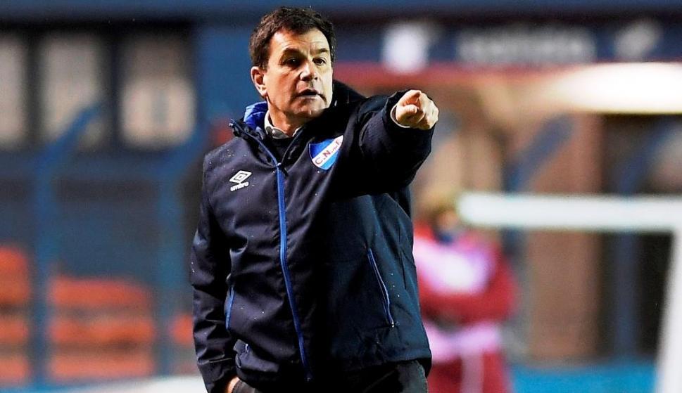 Jorge Giordano viene haciendo un buen papel como director técnico de Nacional. Foto: Nacional. F. C.