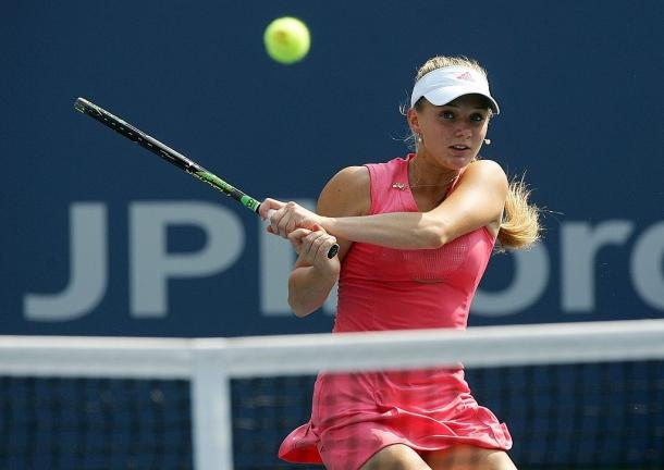 The 2007 US Open saw Chakvetadze make the semifinals which is the best Grand Slam showing of her career. Photo: Jim McIsaac