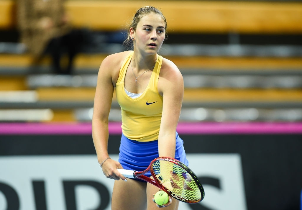 Kostyuk is aiming to reach the semifinals of a main draw event for the first time in her career. Photo: Lukasz Sobala