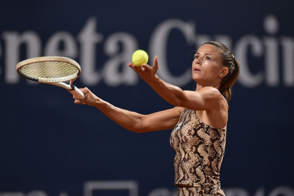 Giorgi is a former champion here, winning the title two years ago. Photo: