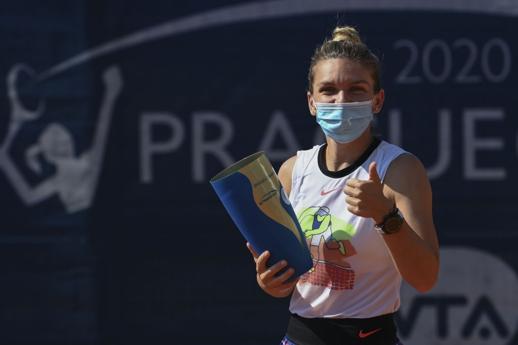 Halep won her first International-level clay court title in Prague. Photo: Martin Sidorjak.