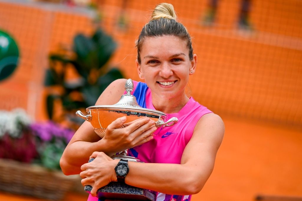 Halep continued Romanian dominance on clay in 2020 by winning the title in Rome.