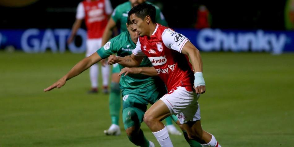 Fabián Sambueza, siempre figura, pero últimamente con problemas disciplinarios en la cancha. Imagen: Dimayor.