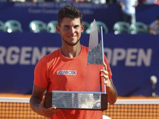 Dominic Thiem won the Argentina Open in 2016. Photo: David Fernandez/EPA