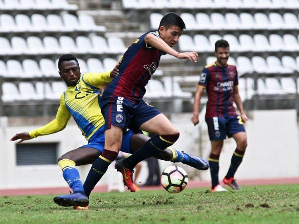 O golo de Perdigão fez o resultado final a favor da equipa de Chaves | Foto: MaisFutebol
