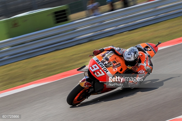 Marquez on the pace in FP3 at San Misano - Getty Images