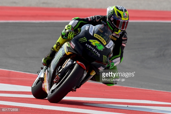 Espargaro using the run off areas in Misano - Getty Images