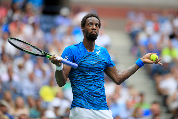 Gael Monfils more than played his part in a semi-final that was very odd at times. (Photo: Tim Clayton/Corbis via Getty Images)