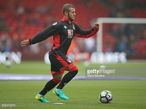Wilshere will look to run the tempo of the game (photo: Getty Images)