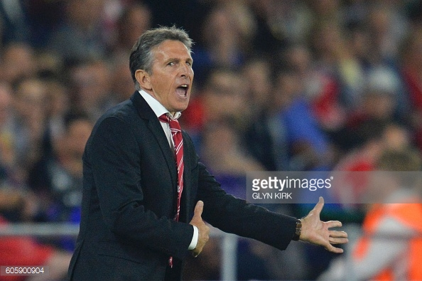 Saints manager Claude Puel will surely want to strengthen his team in January. Photo: Getty.