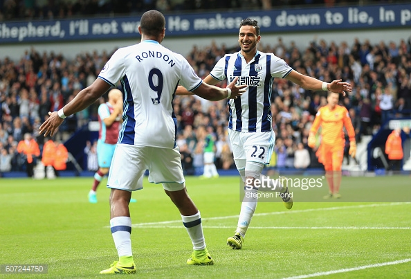 West Brom's last win came at the hands of West Ham. Photo: getty