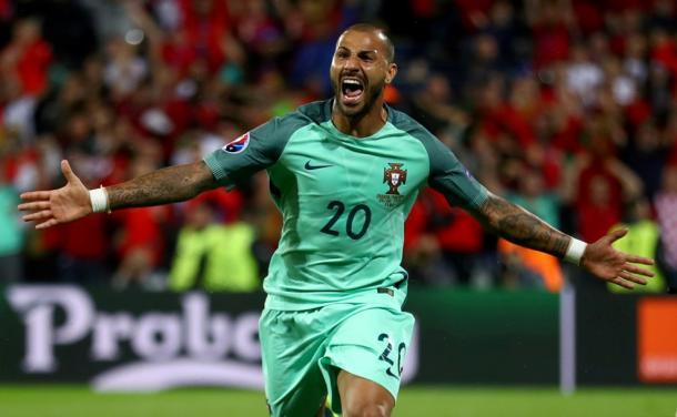Quaresma esulta dopo il gol. Fonte foto: it.uefa.com