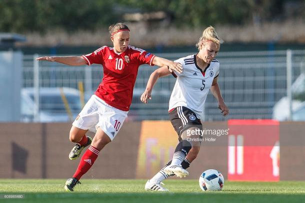 A crucial figure throughout, player coach Fanni Vágó, goal and assist were ultimately too little too late for the Austrians
