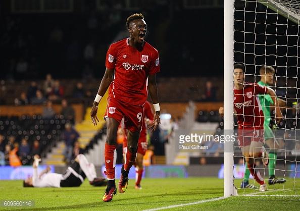 Abraham scored 23 goals for Bristol City last season. (picture: Getty Images / Paul Gilham)