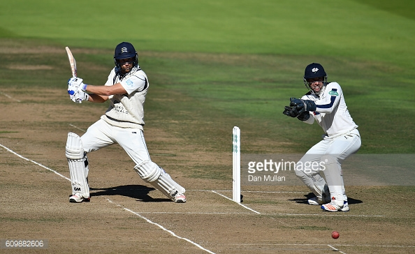 Malan in action during his innings of 116 for the hosts | Photo: