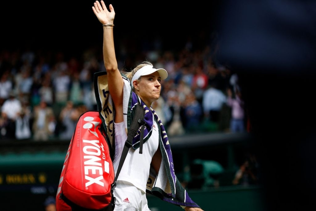 Kerber relishes the challenge of maintaining her resurgence as she heads off to the next phase of the season. Photo: